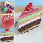 Lolly Bag Cake by cakecrumbs
