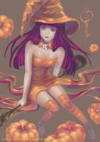 Halloween Stocking by FranyBerry