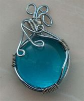 Wire pendant 32 by Kimantha333