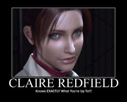 Claire Redfield Motivation by leon42633