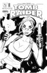 Tomb Raider Sketch Cover by DNA-1