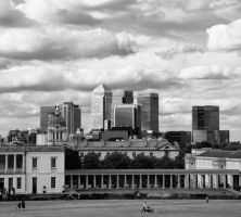 Canary Wharf I by AndrewToPhotography