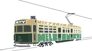 Melbourne Tram by CreativeCamArt