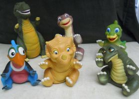 Land Before Time Figures From Pizza Hut by Malidicus