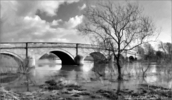 Swarkestone Bridge by Velvet--Glove