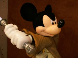 May the Force be With Mickey by Minnie-Mousegirl