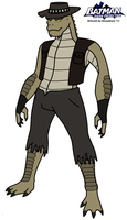BDD: Killer Croc 2011 by HewyToonmore