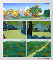 Epic Wub Time Backgrounds by PixelKitties