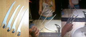 How I made the claws of X-23 and Wolverine by MartinDNoa