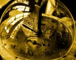 Time in a Bubble 2 Sepia by Forestina-Fotos