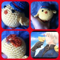 Gilbird Prussia Cosplay Buddy - Hetailia by magpie89