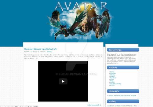 Avatar layout v11 by luculi