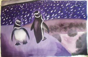 Lovely Pinguins by LinaPrime