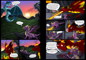 Path to Chaos Chp 1 Pg 13-14 by ExplodedPineapple