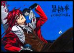 Grell have fun with his dolls by Xx-Syaoran-kun-xX
