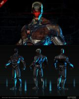 ZBrush sketch Robot 4 by Nero-tbs