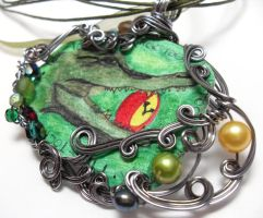 Neverland Pendant no. 6 by sojourncuriosities