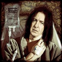 Get well soon, Mr. Snape by Simulcika