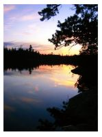 Iceland Lake, Temagami by designing-Life