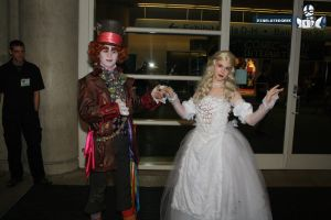 Hatter and His Queen by SithcamarowsPadawan