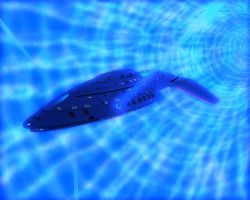USS Splinter in slipstream by ACXtreme