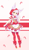 Peppermint Bunny - Free Adopt Raffle [CLOSED] by Oma-Chi