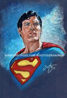 Superman - Christopher Reeve (2014) by scotty309