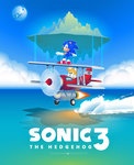 Sonic the Hedgehog 3 Poster by TheCongressman1