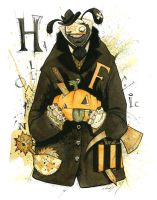HALLOWEEN FROLIC 2009 by GrisGrimly