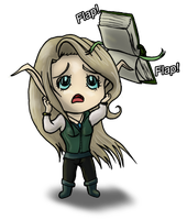 [Commission] Frostfeathers Chibi 2 by ridia