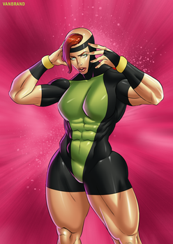 Jean Grey Power Form by sats-VanBrand