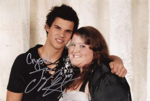 Pro pic Taylor Lautner and Me by The-Crystizzler1990