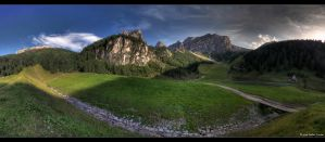 Panoramic Mountains by stetre76