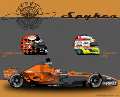 Spyker V8-VII by ShinjiRHCP