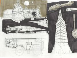 several conceptart by joseisai
