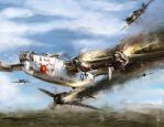 world war 2: B-24 Flak shak by VitoSs