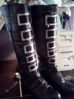 my alice cosplay boots by Aiika