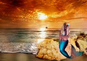 Mermaid by Polinamay