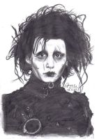 Edward Scissorhands by aangeel