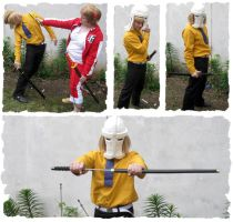 Hirako Shinji cosplay resume by ShinTK-Zero
