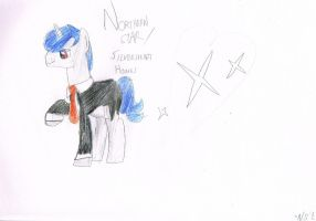 OC: Northern Star - in his business suit by Amethyst-Star-MLP
