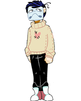zacharie again by GH0ST1ES