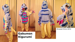 Gabumon Kigurumi by StraylightRevelation