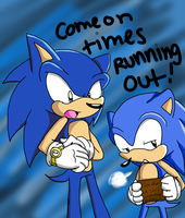 +- One Hour Sonic1 -+ Hurry Up by CottonCandyRush