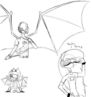 The shenanigans of the livestream by 11IceDragon11