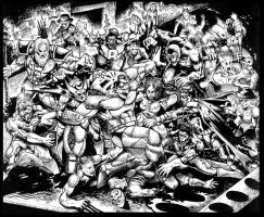 Commission:Zombies in COH by johnbecaro