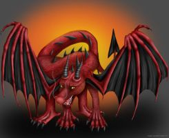 Red Dragon by redderz