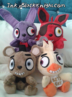 Five Nights at Plushies! by InkyBlackKnight