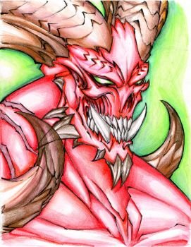 The face of a demon - doom by winddragon24