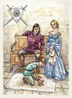 Richard III and family by cabepfir